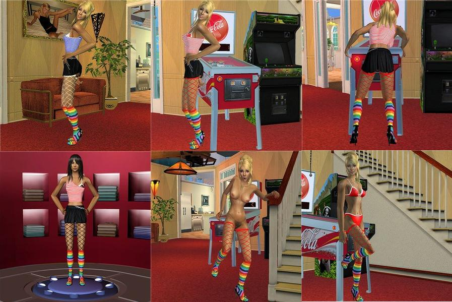 Sims 2 erotic clothes